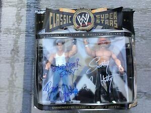 Autographed- Grandmaster Sexay & Scotty 2 HottyWWE Classic Superstars  WWF