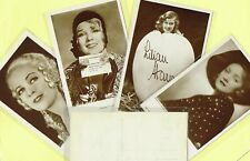 ROSS VERLAG - 1930s Film Star Postcards produced in Germany #4845 to #4940