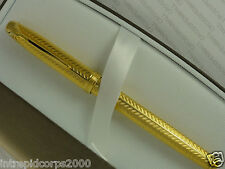 Cross Made in the USA Pinnacle 22KT Gold with 18KT Solid XF NIB FOUNTAIN  Pen.
