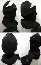 Set sciarpa + cappello scarf hat ENRICO COVERI MS1243 MC1243 c.7 nero black gift