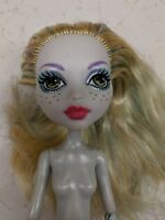 Monster High Lagoona Blue Nude Doll, Missing Arm & Fins for OOAK or Play