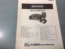 Alinco DR570T/E  Service Manual