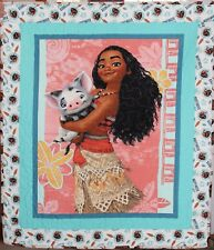 Disney Moana and Pua Handmade & Finished Quilt