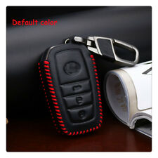 For TOYOTA Car Key Holder Case Shell 3 buttons Car Remote Key Cover Leather
