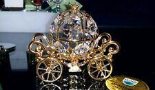 NEW Disney Arribas 24K Gold PL Spectra Crystal Cinderella Coach! *Sparkling*