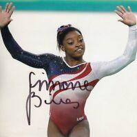 Simone Biles (USA) 1.OS Rio de Janeiro 2016 Turnen original signiert/signed !!!
