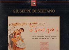 GIUSEPPE DI STEFANO disco LP 33 giri 'O SOLE MIO stampa ITALIANA Dino Olivieri