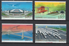 China 2017-29 高�發展 Achievements of China's High-speed Rail Train Stamp