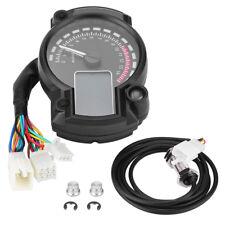 LCD Compteur Odomètre Tachymètre Universel Indicateur de vitesse Moto Digital