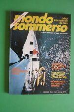 Magazine MONDO SOMMERSO N. 229-230 DEL 1979 Rivista internazionale del mare