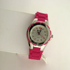 Michele MWW12P000002 Tahitian Jelly Bean Womens Stainless Silicone Swiss Watch