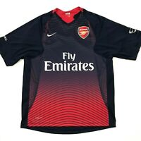 Nike Arsenal FC Mens Soccer Jersey Football Navy Blue Size Small. A2