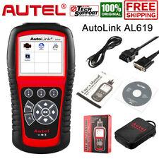 AUTEL AL619 ABS SRS Reset Diagnostic Tool Engine Check OBD2 Fault Code Reader