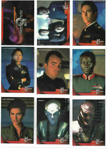Babylon 5 - Special Edition Complete Mini Master Set SkyBox - 1997