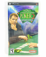World Championship Poker 2 Featuring Howard Lederer (Sony PSP, 2005) Playstation