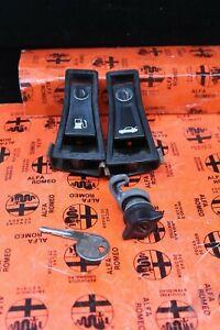 Alfa Romeo OEM Spider Gas and Trunk Latch , Glove Box Lock with OEM Key
