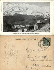 Ferrara di Monte Baldo, Verona, Saluti da, panorama, viaggiata 1916