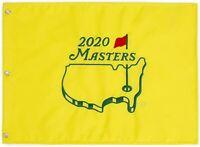 2020 Masters Souvenir Pin Flag - Dustin Johnson winner NEW PGA Authentic