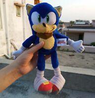 New Sonic Boom Plush 14 Inch Sonic The Hedgehog Stuffed Animal Plush Doll Gif