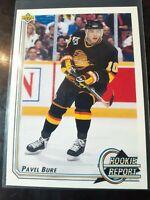 1992-93 Upper Deck Pavel Bure Rookie Report #362 Canucks *BUY 2 GET 1 FREE*