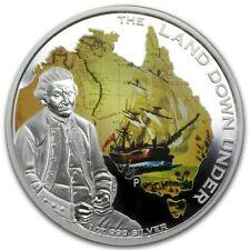 AUSTRALIA 1 Dollar 2013 1 oz Silver PF The Land Down Under - Captain James Cook