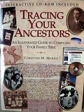 TRACING YOUR ANCESTERS. 149 pages. INCLUDES CD ROM. Goldaming  Large BOOK