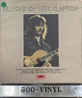 "Eric Clapton - History Of Eric Clapton 12"" Vinyl Double LP EX+ / VG+"