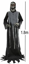 6FT LIFESIZE ANIMATED SWAYING GRIM REAPER HALLOWEEN PARTY PROP DECORATION 6635B
