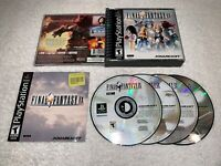 Final Fantasy IX (PlayStation 1) PS1 Black Label Complete w/Manual Excellent