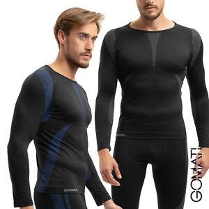 Gomati - Herren Seamless Thermo-Funktionswäsche - Langes Unterhemd