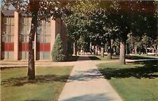 Moorhead Minnesota~Carl B Ylvisaker Library~Concordia College~1960s Postcard