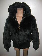 Baby Phat Women's Plus Size 1x (XL) Black Reversible Jacket, 2 Jackets in 1!