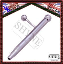 PRINCE ALBERT WAND LARGE HOLLOW END AND SIDE BALL URETHRAL BAR,BARBELL PIERCING