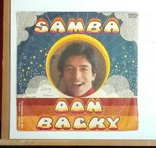 "56673 45 giri - 7"" - Don Backy - Samba - Sogno - Amico"