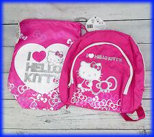 """Hello Kitty """"bowtastic"""" Mochila Escolar Bolsa Mochila PE/Bolsa De Deporte"""
