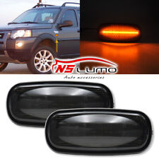 For LAND ROVER DISCOVERY2 FENDER SMOKED SIDE MARKER REPEATER LIGHT SET XGB100310