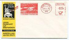 1973 Dortmund 1 Sowjetunion UDSSR Raumfahrt Briefmarken Dresdner Bank Deutsche