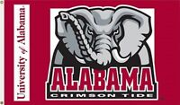 NCAA Licensed Alabama Crimson Tide Roll Tide 3' x 5' FLAG w/Grommets Banner New