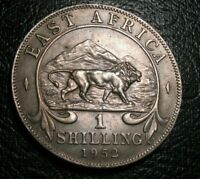 OLD Silver Coins 1952 East Africa Choice 1 Shilling George VI Beauty