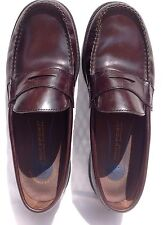 Rockport  Mens Shoes Brown Leather Penny Loafers Slip On 10M