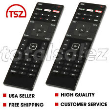 2 For New Vizio XRT122 Remote control XUMO/Netflix/IheartRadio keys LED smart TV