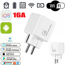 Spina WiFi SmartPlug Presa Wireless Control Vocale Adattatore Timing Switch Z6C5