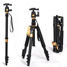 Portable Professional Aluminum Tripod &Ball Head for DSLR Camera tripods Nikon