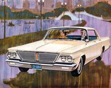 1964 Chrysler New Yorker 4 door Hardtop, Refrigerator Magnet, 40 Mil Thick