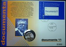 Deutschland Numisbrief 2002 Documenta Münze 10 Euro Silber