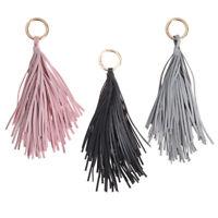 Long Tassel Leather Purse Handbag Key Chain Key Ring for Bag Handbag Accessories