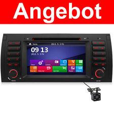 DVD GPS Für BMW E39 E53 X5 E38 5er Navigation Autoradio 2-Zone IPOD RDS