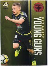 2017/18 FFA A-League Trading Cards - Scott Galloway (Young Guns YG-22)
