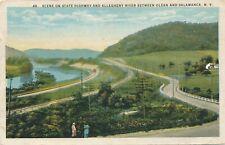 OLEAN and SALAMANCA NY – State Highway, Allegheny River Between Olean, Salamanca