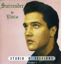 RARE CD IMPORT ELVIS PRESLEY-  SURRENDER BY ELVIS - STUDIO B SESSIONS
